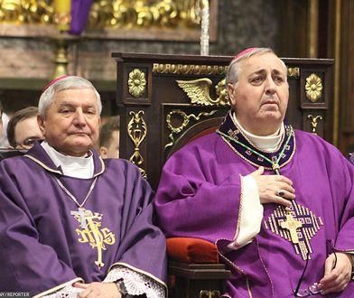 Biskup Edward Janiak oraz Nuncjusz Apostolski w Polsce abp Salvatore Pennacchio
