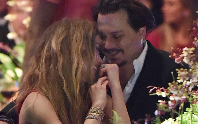 Takie chwile już nie wrócą. Amber Heard i Johnny Depp, Kalifornia, styczeń 2016 r.
