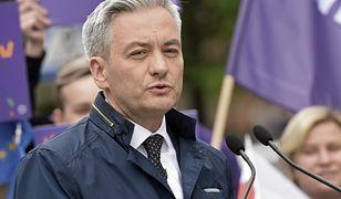 Robert Biedroń nie przebierał w słowach krytykując Klepacką