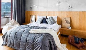 Pomysł na sypialnię: ściana za łóżkiem