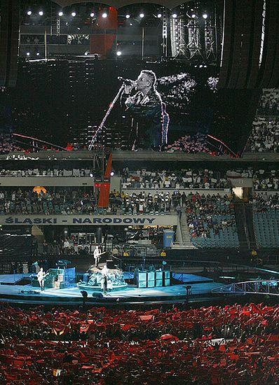 U2 zagrał dla 70 tysięcy - zobacz zdjęcia