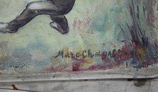 Prawdopodobnie obraz Marca Chagalla