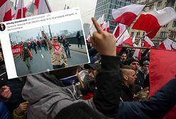 Facebook usuwa kontrowersyjne zdjęcie z Marszu Niepodległości. Autor oburzony