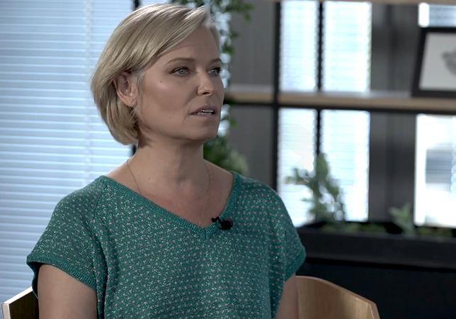 Paulina Młynarska podczas wywiadu dla WP Kobieta