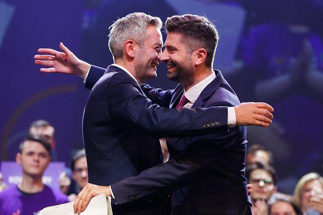 """Wybory prezydenckie 2020. Krzysztof Śmiszek wspiera """"męża"""""""