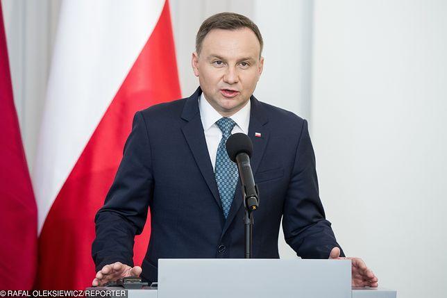 """""""Mam nadzieję na współpracę"""" - napisał w depeszy gratulacyjnej Andrzej Duda"""