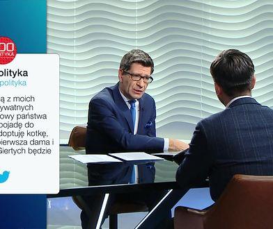 Robert Biedroń adoptuje Pierwszą Damę. Krzysztof Śmiszek komentuje