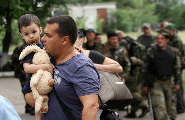 """Krytyczna sytuacja w Ługańsku. """"Miasto na skraju katastrofy humanitarnej"""""""