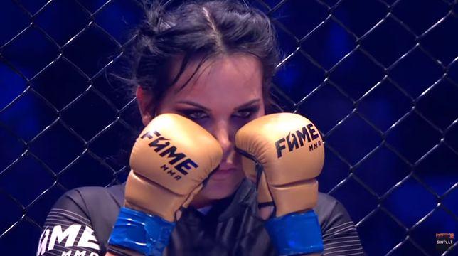 """Fame MMA: Monika """"Esmeralda"""" Godlewska znokautowana przez Linkiewicz"""