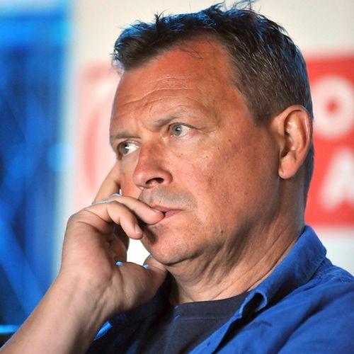 Jan Frycz wciąż walczy o powrót do zdrowia