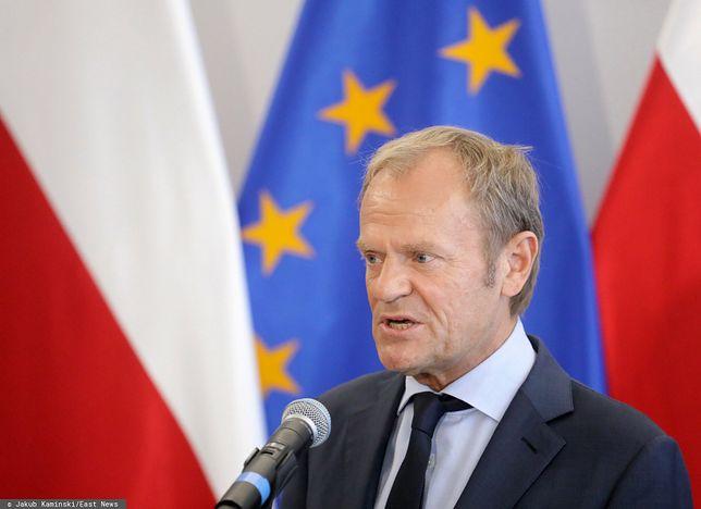 """Tusk odniósł się do szarpaniny w Szczecinie. """"Zostałem bezpośrednio zaatakowany"""""""
