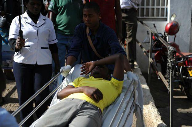 Tragedia podczas ćwiczeń antyterrorystycznych na uczelni. 1 osoba nie żyje, są dziesiątki rannych