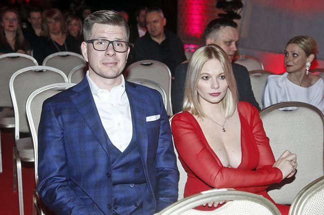 Filip Chajzer i Małgorzata Walczak