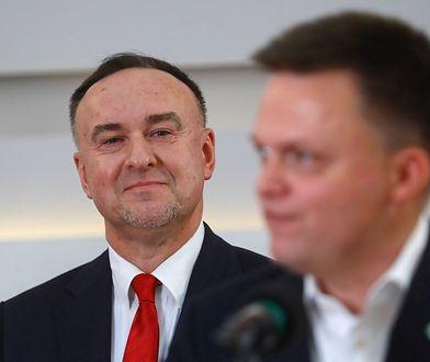 Szymon Hołownia i  Michał Kobosko