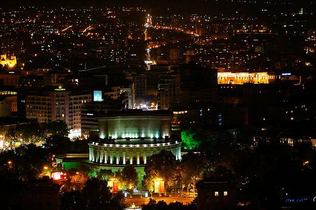 Atrakcje Armenii - nowoczesne centrum miasta w Erywaniu