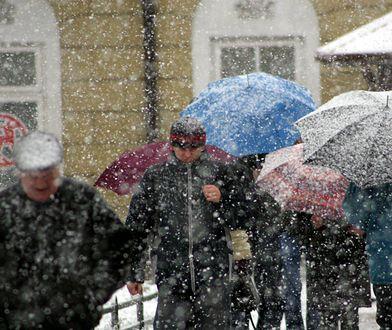 Radykalna zmiana pogody. Niewykluczony śnieg z deszczem