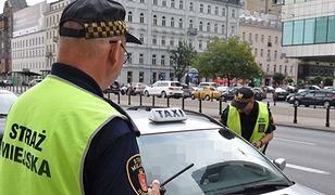 """Straż Miejska skontrolowała taksówki. """"Nieprawidłowości w co drugiej"""""""