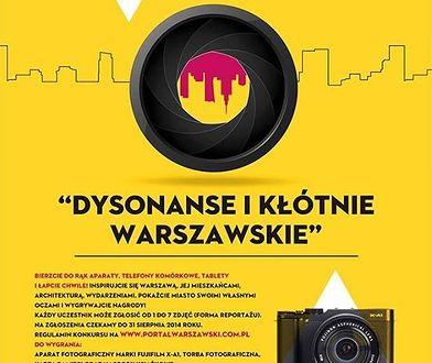 """Konkurs """"Dysonanse i kłótnie warszawskie""""`"""