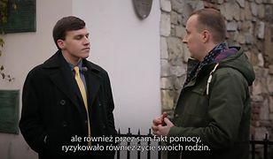 11 listopada przestraszył się antysemityzmu. Teraz odwiedził Kraków