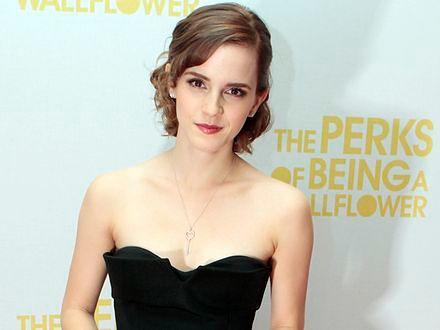 Emma Watson dumna z Hermiony