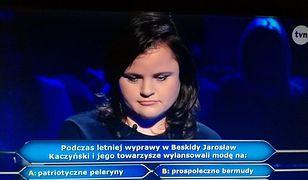 Agnieszka Faust odpadła przy pytaniu za 40 tys. złotych