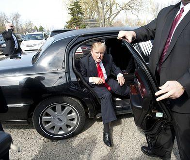 Zmotoryzowany Donald Trump
