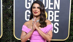 Złote Globy 2020. Priyanka Chopra wyglądała zjawiskowo