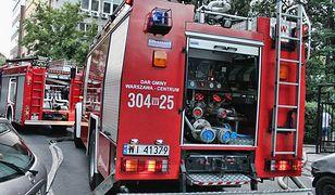 Pożar w szpitalu psychiatrycznym w centrum Warszawy. Nie żyje pacjent