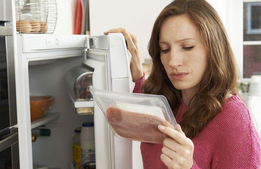 Ułożenie produktów w lodówce