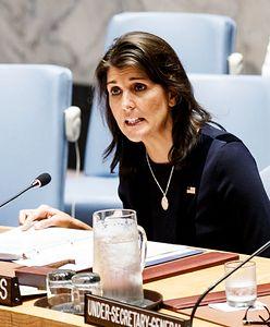 Ambasador USA przy ONZ Nikki Haley rezygnuje