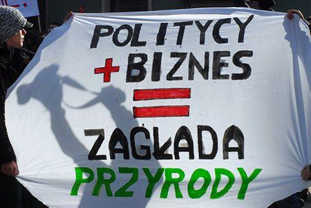 Demonstracje w obronie Doliny Rospudy