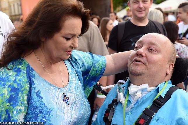 Anna Dymna pomogła Januszowi Świtajowi