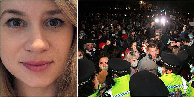Wielka Brytania w szoku po śmierci Sarah Everard. Przepychanki z policją w Londynie.