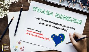 Konkurs dla uczniów na plany wycieczek po metropolii warszawskiej