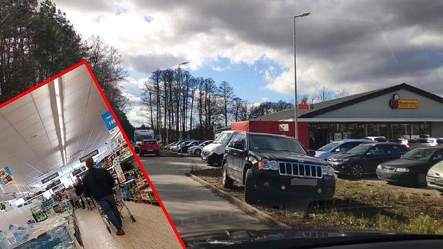 Parkingi zapchane po brzegi, kolejki na kilkadziesiąt osób - to rzeczywistość po decyzji o zamknięciu szkół.
