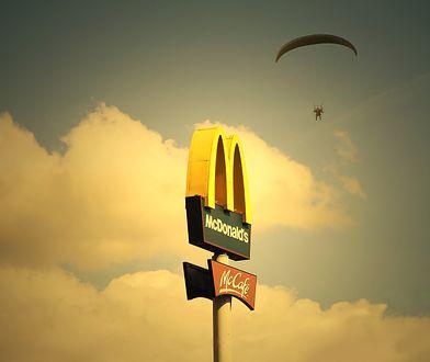 McDonald's kolejki. Powodem kanapka drwala