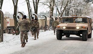 Amerykański Hummer w Żaganiu - zdjęcie ilustracyjne