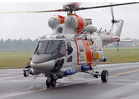 Morski Oddział Straży Granicznej otrzymał śmigłowiec W-3AM Anakonda do wykonywania zadań w ochronie morskiej granicy RP.