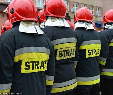 Strażacy domagają się 650 złotych podwyżki