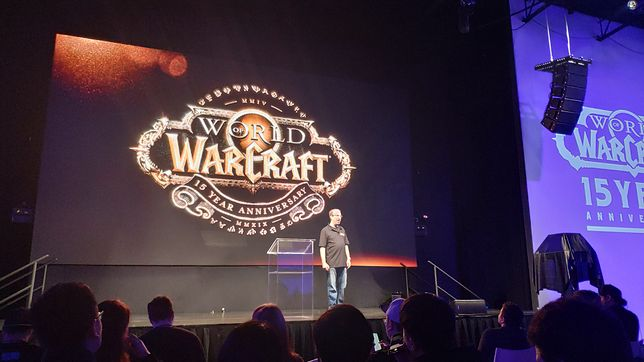 "John Hight, wiceszef ""World of Warcraft"", na specjalnej imprezie w Los Angeles"