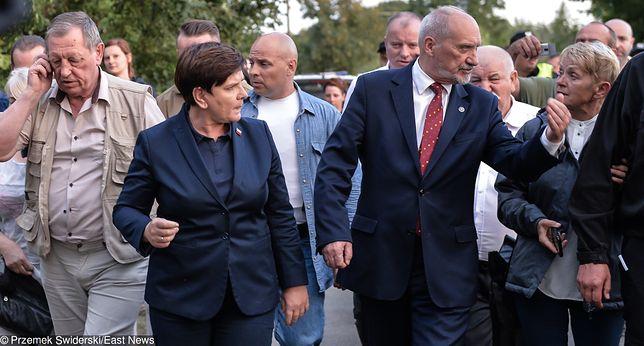 Jan Szyszko, Beata Szydło, Antoni Macierewicz