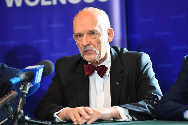 Janusz Korwin-Mikke nie zasiada już w Parlamencie Europejskim