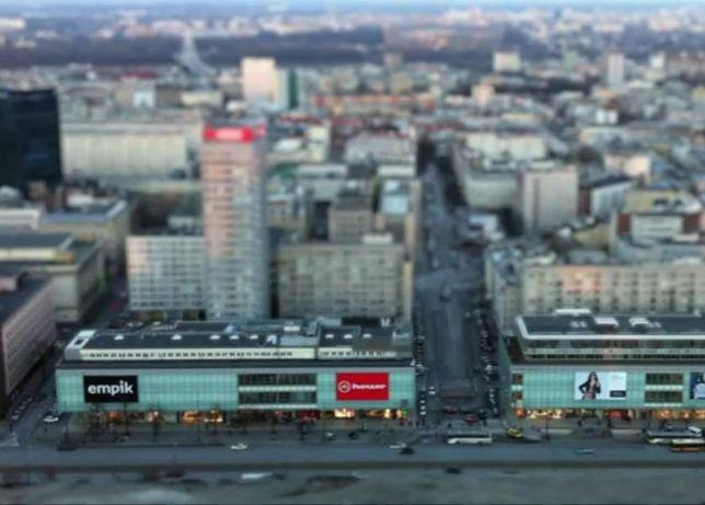 Warszawa jak makieta filmowa (wideo)
