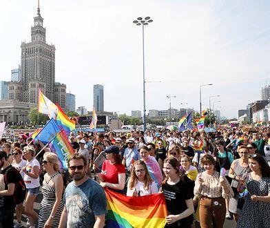 Warszawa. Parada Równości. Pójdą razem, ale w wielu pochodach
