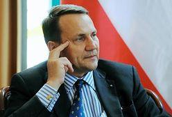 Sikorski: Mam nadzieję, że Putin uzna sankcje za szok moralny