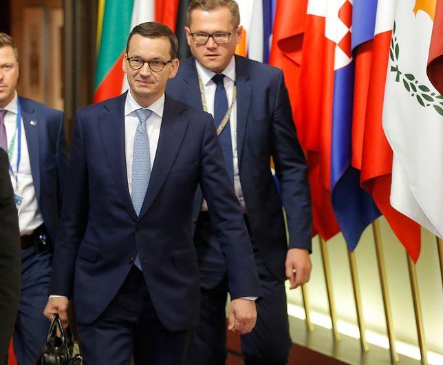 """Mateusz Morawiecki twierdzi, że ustalenia szczytu """"to gigantyczny sukces Polski"""""""