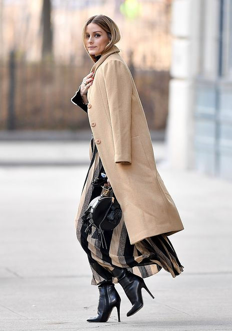 LOOK OF THE DAY: Olivia Palermo w płaszczu Related