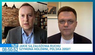 """Szymon Hołownia o kontakcie z Romanem Giertychem. """"Lubimy się, szanujemy"""""""