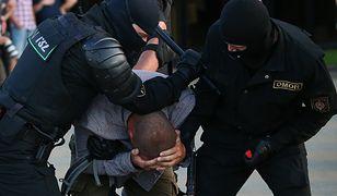Białoruś. Polskie MSZ informuje o trzech zatrzymanych Polakach (GETTY, Natalia Fedosenko/TASS, Fot: Natalia Fedosenko)