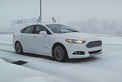 Autonomiczny Ford testowany na śniegu